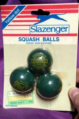 Мячи для сквоша Slazenger