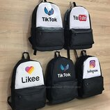 Мега популярные рюкзаки Likee & Tik Tok