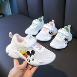 Детские кроссовки-сеточка с Микки Маусом от 22 до 31 размера