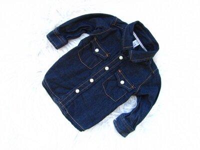 Качественная и стильная джинсовая рубашка Gap