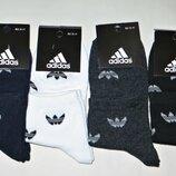 Спортивные носки Adidas женские стрейч Турция р.36-41