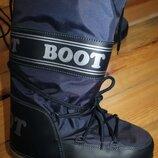 41-43 разм. Сапоги Boot. Зимние очень теплые длина по внутренней стельке - 27,5 см., ширина подошвы