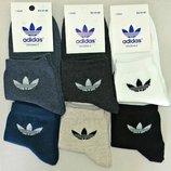 Мужские спортивные носки Adidas стрейч Турция р.41-45