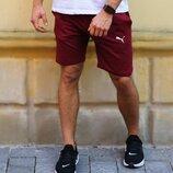 Шорты мужские трикотажные Puma шорти чоловічі пума шорты спортивные