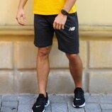 Шорты мужские трикотажные New Balance шорти чоловічі нью беланс шорты спортивные