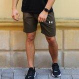 Шорты мужские трикотажные Under Armour шорти чоловічі андер шорты спортивные
