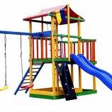 Детский игровой комплекс цветной