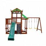 Детский игровой комплекс для дачи из натурального дерева