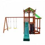 Детский игровой комплекс из натурального дерева