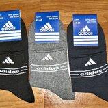 Носки мужские Adidas стрейч спортивные р. 41-44 Турция.