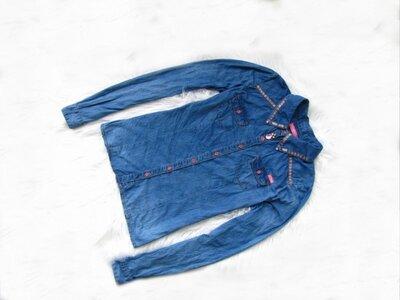 Качественная и стильная джинсовая рубашка Jbc