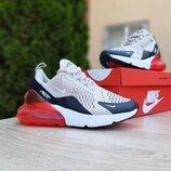 Кроссовки женские Nike Air Max 270, бежевые