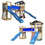 Детская игровая площадка из натурального дерева «SportBaby-11»