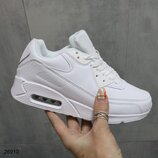 Женские белые кроссовки Nike Air Max
