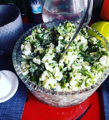 Витаминный салат из черемши или лука 1кг