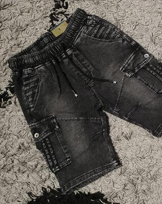 Крутые шорты бриджи с боковыми карманами