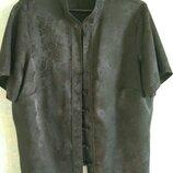 Блуза большая в китайском стиле. Торг