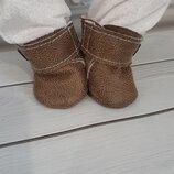 Ботинки для кукол Беби Борн и старшей сестры. Ручная работа
