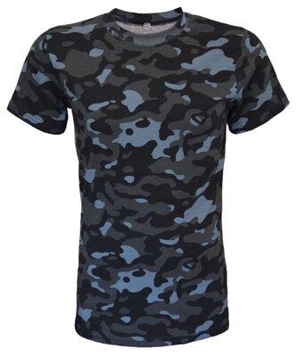 Камуфляжная футболка для охраны Город
