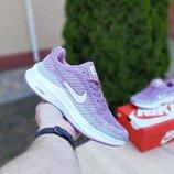 Кроссовки женские Nike Flyknit Lunar 3, лиловые