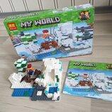 Конструктор Mine Craft My world 10960