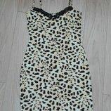 Леопардовая ночная рубашка, ночнушка