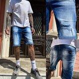 Шорты джинсовые мужские стрейчевые размер 29-38 9920-3 R Relucky Н