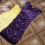 Яркое фиолетовое платье H&M