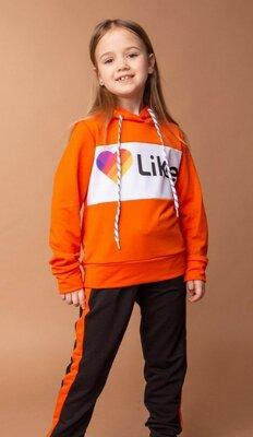 Детский спортивный костюм для девочки р. 116-134
