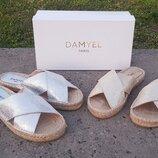 Шлепанцы Damyel Испания, оригинал. Натуральная кожа 36-40