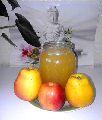 Домашний натуральный яблочный уксус на чистом соке с мёдом