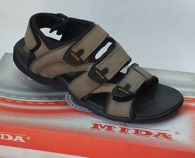 Мужские кожаные сандали Мида 13751