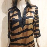 Блуза натуральный шелк.