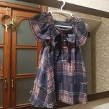 Легка стильна блузка на дівчину 3-4 роки 170 грн