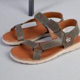 Код 8207-1 Мужские сандали сезон лето размеры 40-45 материал натуральная кожа внутри кожа цвет