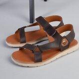 Код 8207 Мужские сандали сезон лето размеры 40-45 материал натуральная кожа внутри кожа цвет к