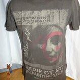 Катоновая стильная футболка COLIN'S Колинс .xs-s-м .унисекс