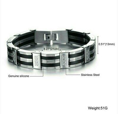 Суперклассный стальной браслет. Стильный мужской браслет из стали.