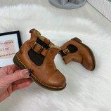 Кожанные ботинки Челси Next, 5р