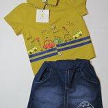 Детский летний костюм на мальчика QtiKids 6 - 12