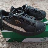 Кроссовки Puma в идеальном состоянии кожа оригинал стелька 18.5 см.
