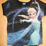 футболка Disney Эльза на 4-5 лет 104-110