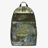 Рюкзак Nike LBR Sportswear Elemental 21l Camo Khaki Backpack NEW Оригинал Хаки камуфляж