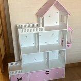 Кукольный домик, ляльковий будиночок, домик для барби LOL, детский домик