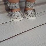 Туфельки для кукол Беби Борн.