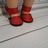Туфельки для кукол Беби Борн. Ручная работа