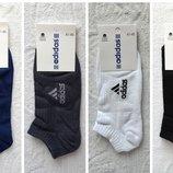 Мужские спортивные короткие носки в сетку Adidas .41-45р. Ассорти.6 пар.