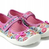 Мокасины детские Befado в наличии текстильная обувь