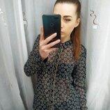 Красивая черная полупрозрачная блузка