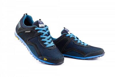 Мужские кроссовки текстильные летние синие-черные Splinter Relaxed